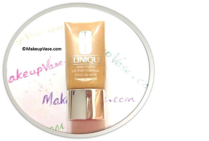 Clinique stay matte oil free makeup review