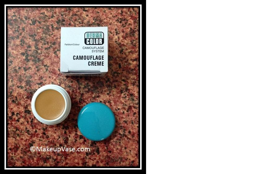 Kryolan derma color camouflage cream review
